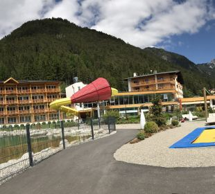 Außenansicht Rieser's Kinderhotel Buchau