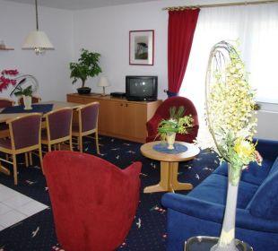 Hotelapartment - Wohnbereich Aparthotel Leuchtfeuer