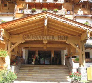 Eingang Hotel Hotel Großarler Hof