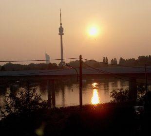 Aus dem Hotelfenster Strandhotel Alte Donau