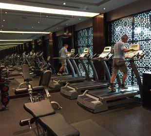 Fitnessraum Park Hotel Clarke Quay