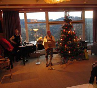 Weihnachtszeremonie Hotel Allgäu Sonne