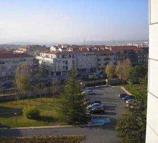 Aussicht auf die Neustadt Hotel Parador de Salamanca