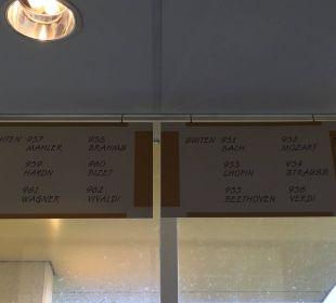 Namen Suiten  Center Parcs Park Zandvoort - Strandhotel
