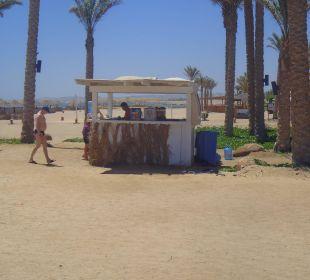 Die sogenannte Beachbar