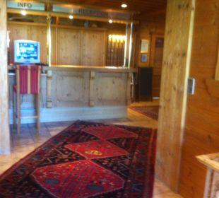 Rezeption Hotel Hannes