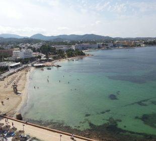 Traumhaft schöner Ausblick direkt auf Meer Intertur Hotel Hawaii Ibiza
