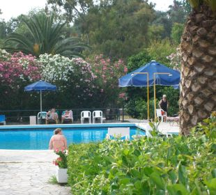 Das ist der Pool Hotel Livadi Nafsika