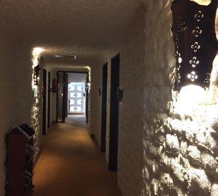 Flur vor den Zimmern Hotel Gronauer Tannenhof