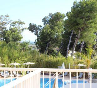 Aussicht vom Balkon Hotel JS Alcudi Mar