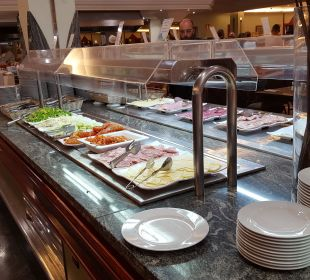 Überschaubare Speisenauswahl Hotel Mirador Maspalomas Dunas