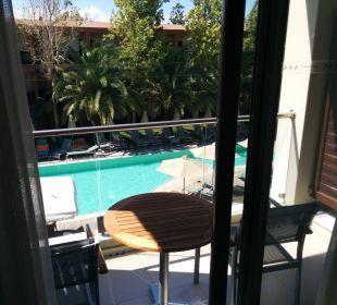 Blick aus Zimmer Hotel Minos Mare Royal