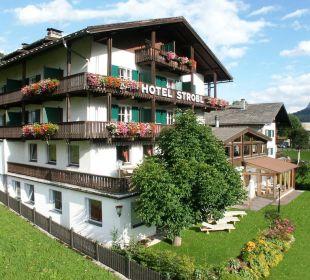 Hotel Strobl im Sommer Strobl