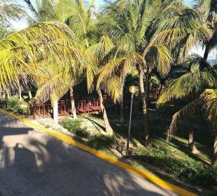 Weg zum Strand Barcelo Solymar Beach Resort