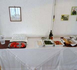 Salatbüffet am Abend Hotel Dimitra