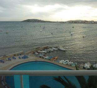 Blick nach Formentera Hotel Simbad