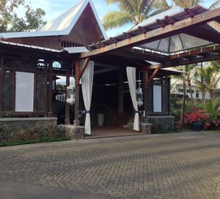 Eingangsbereich Paradise Cove Boutique Hotel