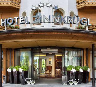 Eingang Hotel Zinnkrügl