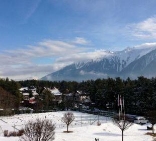 Blick vom Zimmer Kaysers Tirolresort