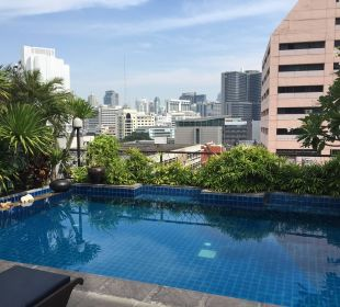 Pool on the top Hotel Siam Heritage