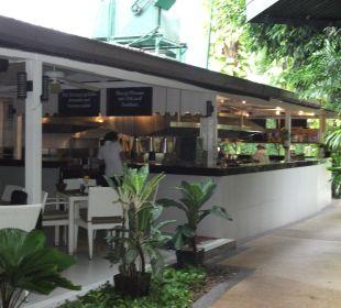 Frei einsehbare Küche K Hotel