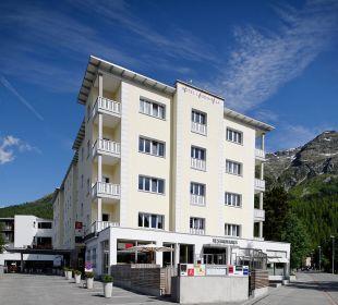 Aussenansicht Sommer Hotel Laudinella