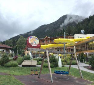 Spielplatz Rieser's Kinderhotel Buchau