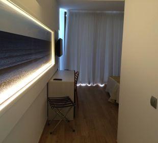 Blick ins Zimmer Hotel Abrat