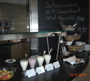Frühstücksbuffet Hotel Schloss Waldeck