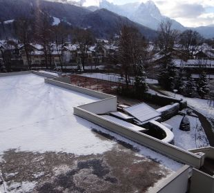 Mountain view Mercure Hotel Garmisch Partenkirchen