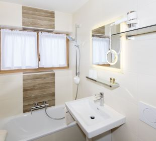 Familienappartement Seenland (50 m2) Bad/WC Angerer Familienappartements Tirol