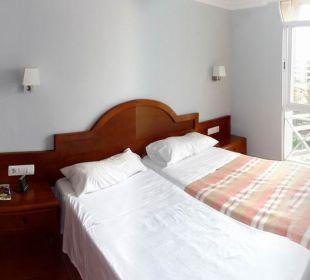 Schlafzimmer 1 Hotel Dorotea