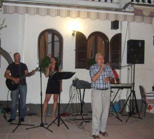 Hotelchef beim Singen Villa Pavlinka