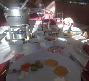 Abendessen-Hauptgang Hotel Alpenrose