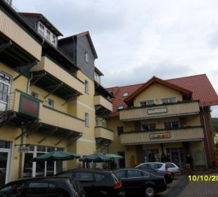 Die Hotelanlage Apart Hotel Wernigerode