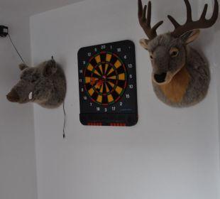 Dartspielen  Landhaus Wildschütz