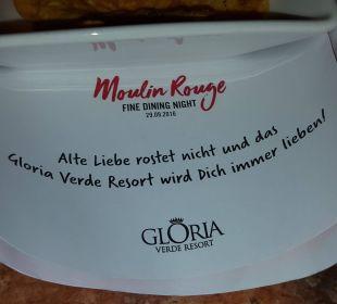 Schöner Spruch Gloria Verde Resort