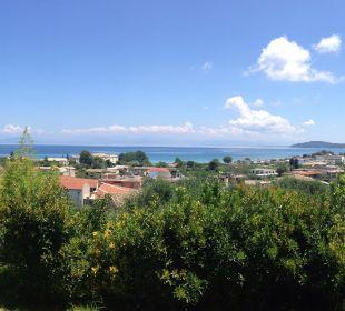 Ausblick vom Nebengebäude Hotel Corfu Pelagos