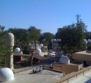 Zimmerausblick auf Garten! Achti Resort Luxor