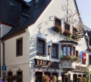 Außenansicht Ringhotel Central Rüdesheim  Ringhotel Central