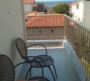 Blick vom Balkon Zi. 303 Hotel Alkyonis