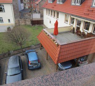 Blick auf die Mühlenstube Apart Hotel Wernigerode