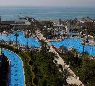 Balkonausblick aus der 7.Etage Hotel Delphin Imperial