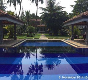 Sehr gepflegter Pool Amal Villa