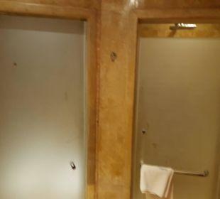 Eingang WC und Dusche