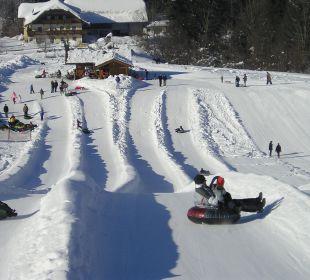 Snowtubing Ebner's Wohlfühlhotel Gasthof Hintersee