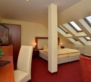 Fereienwohnung Wohn/-Schlafbereich Hotel Via City