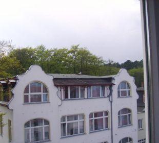 Blick auf Straßenseite Panorama Hotel Bansin