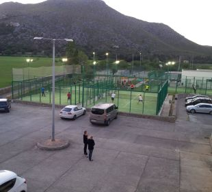 Padel- + Tennis-Court Aparthotel Duva & Spa