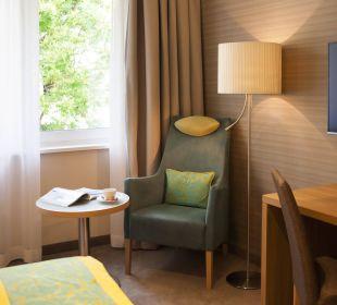 Sitzecke mit Blick ins Grüne Das Capri.Ihr Wiener Hotel
